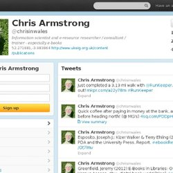 Chris Armstrong on Twitter