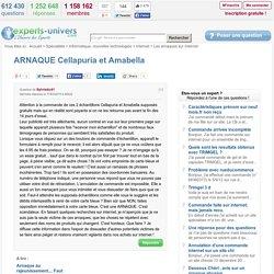 ARNAQUE Cellapuria et Amabella