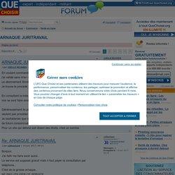 ARNAQUE JURITRAVAIL - Vente en ligne