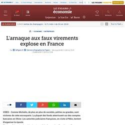 L'arnaque aux faux virements explose en France