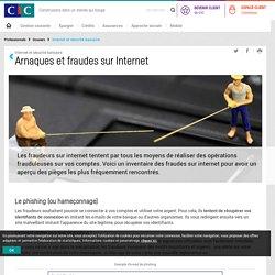 Arnaques et fraudes sur internet - Internet et sécurité bancaire