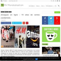 Arnaques en ligne : 19 sites de ventes condamnés