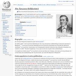 Jón Árnason (1819-1888)