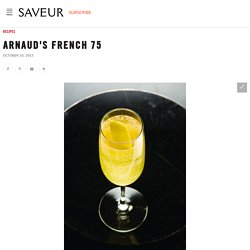 Arnaud's French 75 (Cognac, Champagne, Lemon Cocktail) Recipe