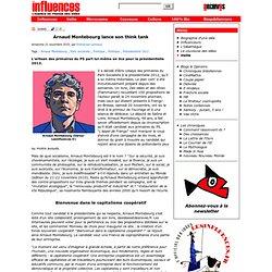 Arnaud Montebourg lance son think tank