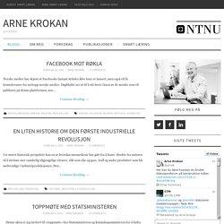 Arne Krokan - @arnek