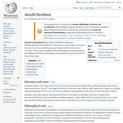 Arnold Davidson