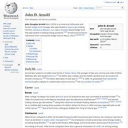 John D. Arnold