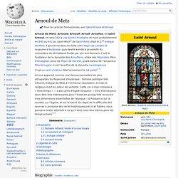 Saint Arnoul de Metz - ÉVÊQUE
