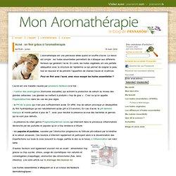 Acné : en finir grâce à l'aromathérapie