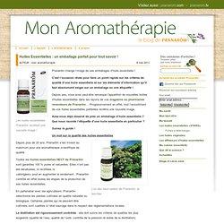 Mon aromatherapieHuiles Essentielles : un emballage parfait pour tout savoir !