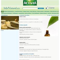 Aromatherapie recettes