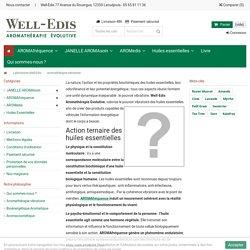 Aromathérapie vibratoire - Well-Edis