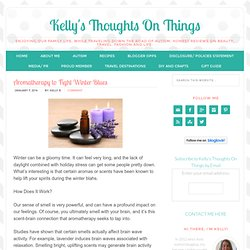 Aromatherapy To Fight Winter Blues