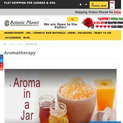 Aromatherapy a Holistic Healing Treatment