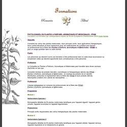 Formation en Phyto-conseil en Plantes à Parfums, Aromatiques et Médicinales - PPAM