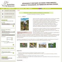 Test métier Producteur cueilleur de plantes aromatiques ou médicinales -