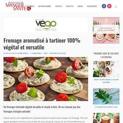 Fromage aromatisé à tartiner 100% végétal et versatile
