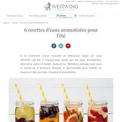 6 eaux aromatisées pour l'été - WESTWING MAGAZINE