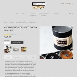 Around-the-World Hot Cocoa Spice Kit
