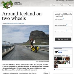 Around Iceland on two wheels « A Blog About Iceland