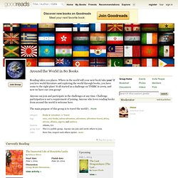 Around the World in 80 Books Group (5985 Members)