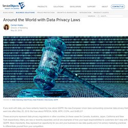 Around the World with Data Privacy Laws -