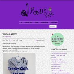 Trendy châle Arpette