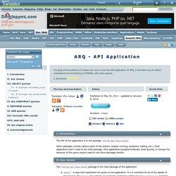 ARQ - API Application