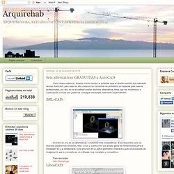 Arquirehab: Seis alternativas GRATUITAS a AutoCAD
