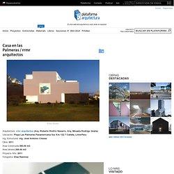 Casa en las Palmeras / rrmr arquitectos