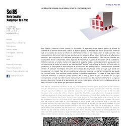 María González y Juanjo López de la Cruz. Arquitectos: ALTERACIÓN URBANA EN LA BIENAL DE ARTE CONTEMPORÁNEO