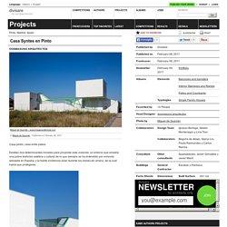 dosmasuno arquitectos — Casa Syntes en Pinto