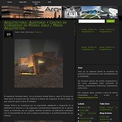 Arquitectura: Auditorio y Centro de Congresos en Morro Jable / Menis Arquitectos.