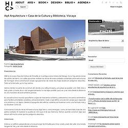 Aq4 Arquitectura > Casa de la Cultura y Biblioteca, Vizcaya