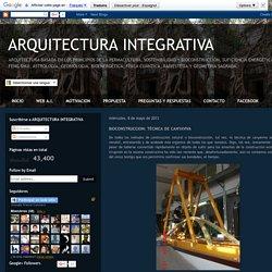 ARQUITECTURA INTEGRATIVA: BIOCONSTRUCCION: TÉCNICA DE CANYAVIVA