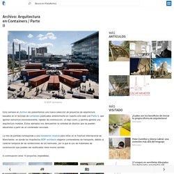 Archivo: Arquitectura en Containers / Parte II