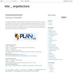 inte _ arquitectura: Descarga el PLAM2035