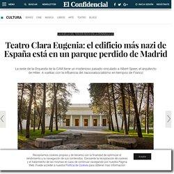 Arquitectura: Teatro Clara Eugenia: el edificio más nazi de España está en un parque perdido de Madrid. Noticias de Cultura