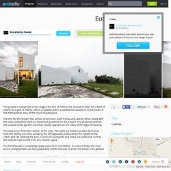 MO+G taller de arquitectura - Project - Eucaliptos House
