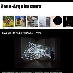 Zona-Arquitectura: Cuppetelli y Mendoza #Instalaciones #Arte