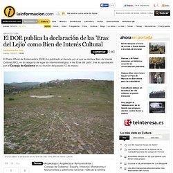 El DOE publica la declaración de las 'Eras del Lejío' como Bien de Interés Cultural – Arquitectura – Noticias, última hora, vídeos y fotos de Arquitectura en lainformacion