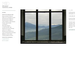 MID estudio. arquitectura y paisaje. Patronato Iturbe en Elgeta (II) : MIDESTUDIO
