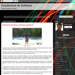 Arquitectura de Software: Arquitectura de Software