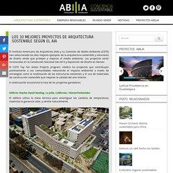 Los 10 mejores proyectos de arquitectura sostenible según el AIA