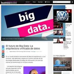 El futuro de Big Data: La arquitectura unificada de datos