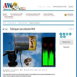 Fabriquer son antenne Wifi - ArracheWorks