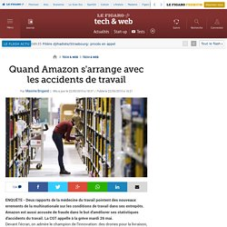 Quand Amazon s'arrange avec les accidents de travail