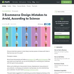 The Best Way to Arrange Your Products For Your Online Store