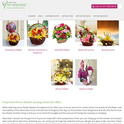 Flower basket arrangements Archives - FNP Corporate